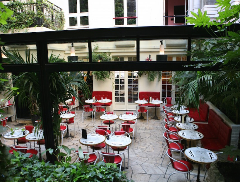 The Terrace at the Hôtel Amour