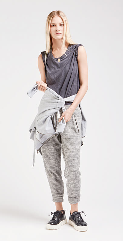Grayscale Athleisure