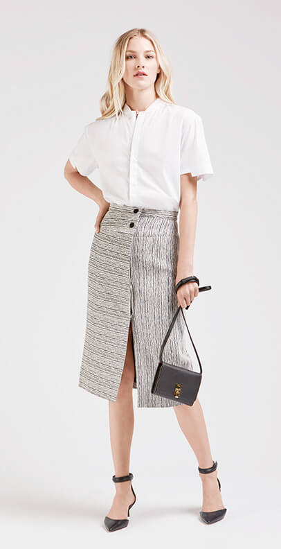 A Midi Skirt For Extra Long Days