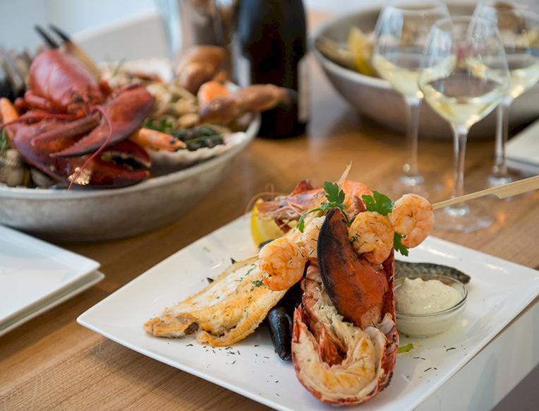 Seafood bar goop for Seafood bar van baerlestraat