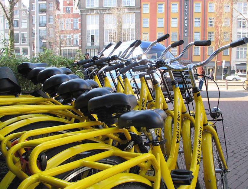 Yellow Backie + Bike Rentals