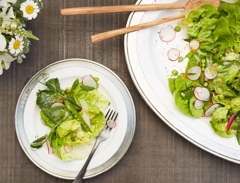 Spring Pea & Fresh Herb Salad