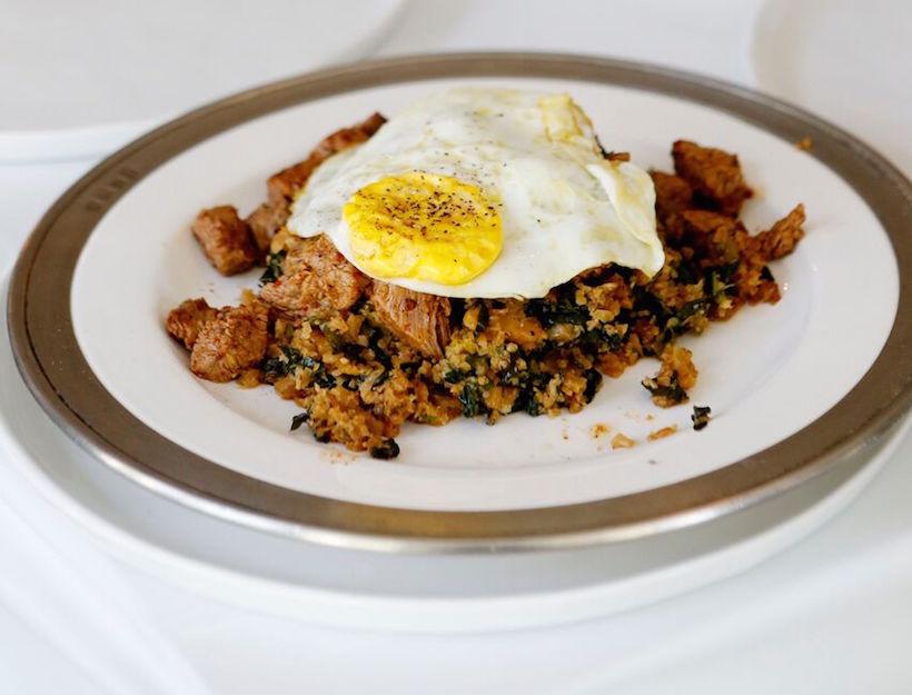 "Cameron's ""Put An Egg On It"" Cauliflower Fried Rice"