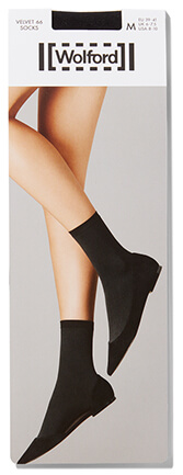 BLACK WOLFORD SOCKS