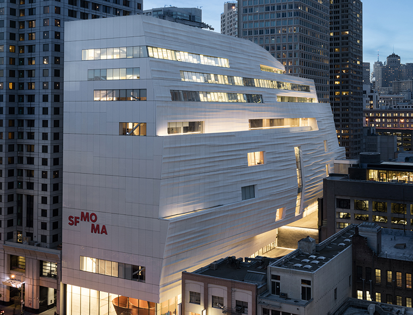 3. Snøhetta expansion of the new SFMOMA, 2016; photo © Henrik Kam, courtesy SFMOMA