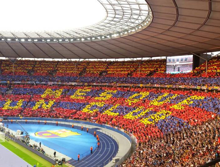 FC Barcelona at Camp Nou