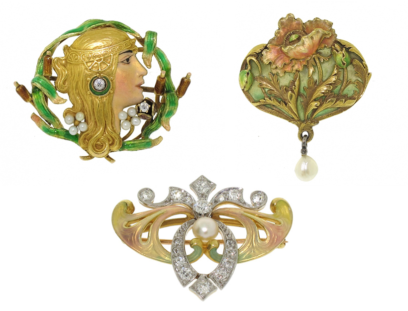 Art Nouveau (1890-1915—in France)
