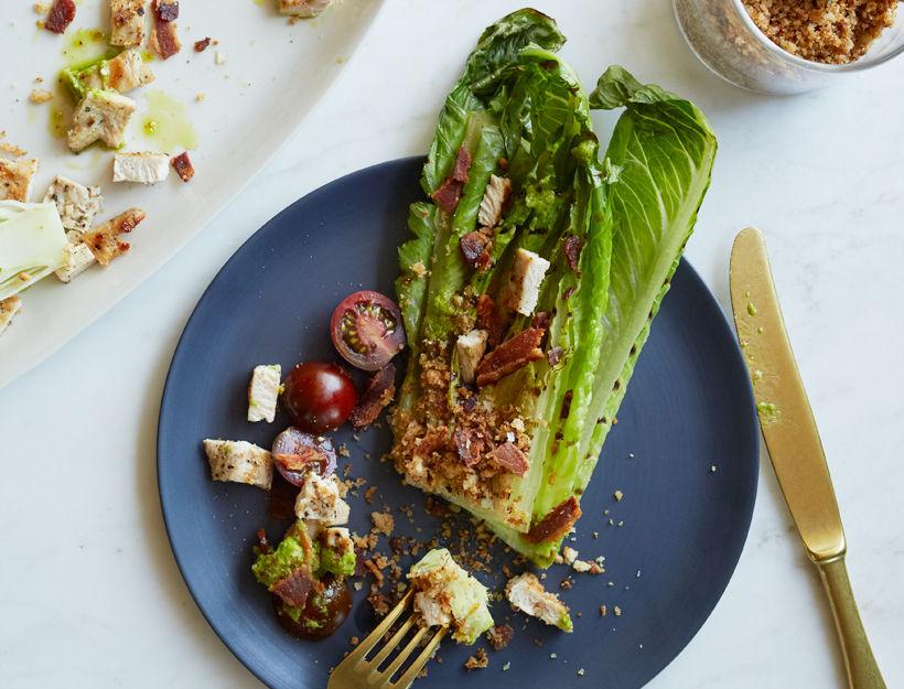 Grilled BLT Salad
