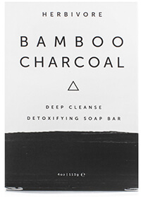 Herbivore Botanicals Bamboo Charcoal Soap Bar