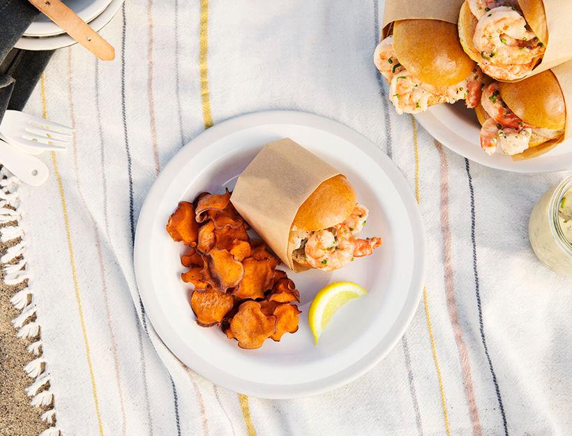 Classic Shrimp Roll