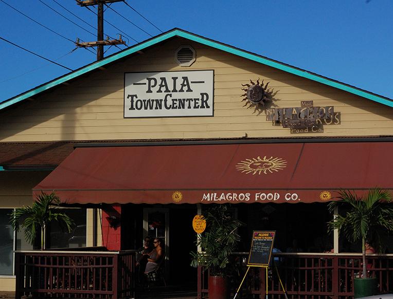 Pa'ia Town