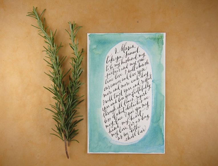 Paper Finger Calligraphy