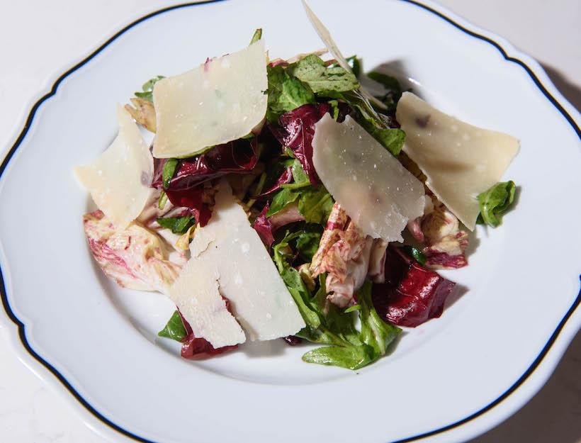 Tricolore with Chianti Vinaigrette & Parmigiano Reggiano
