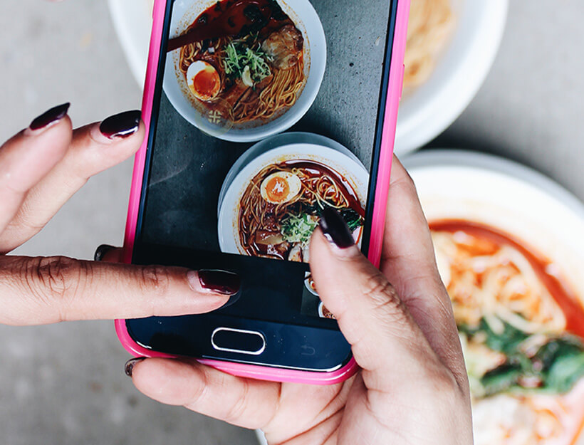 Kết quả hình ảnh cho foodie on iphone