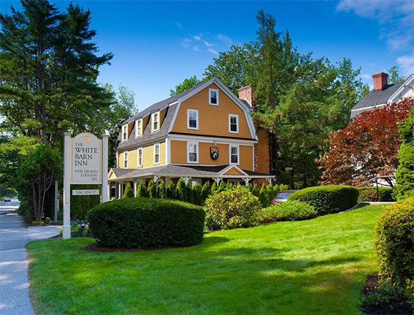 The 26-room White Barn Inn