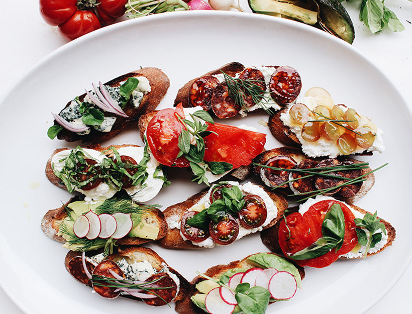 Kari Young's Bruschetta, Five Ways