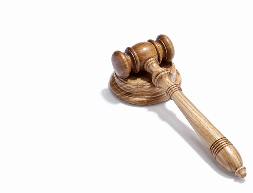A judges gavel