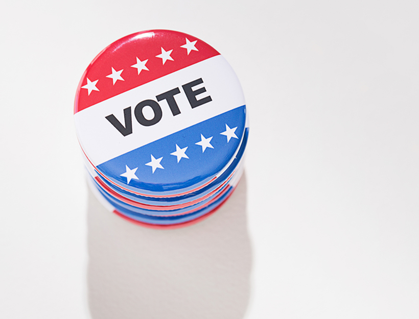 Series with voting pins.