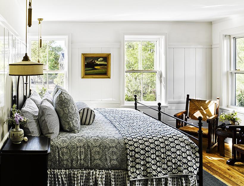 Roman and Williams' Nantucket Venture | Goop on nantucket nautical symbols on houses, nantucket harbor wall art, nantucket bedroom design,