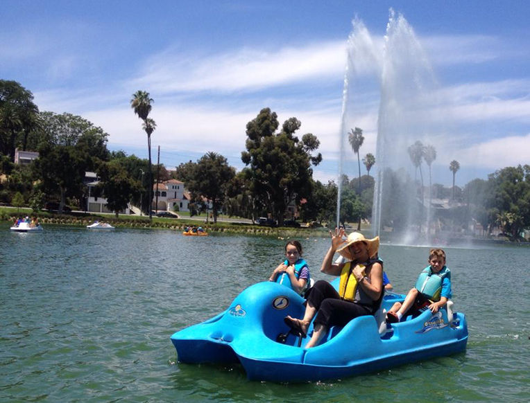 Echo Park Pedalboats