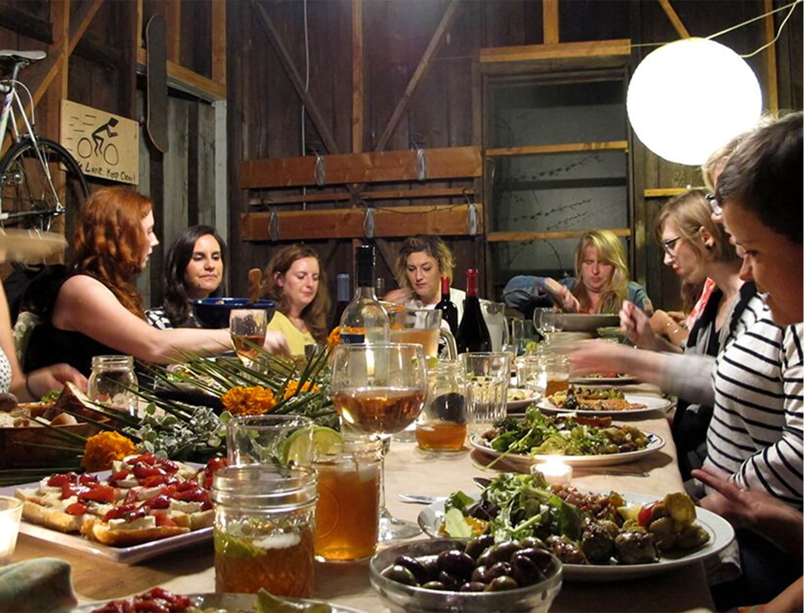 The memorial dinner party goop for Best dinner party ideas