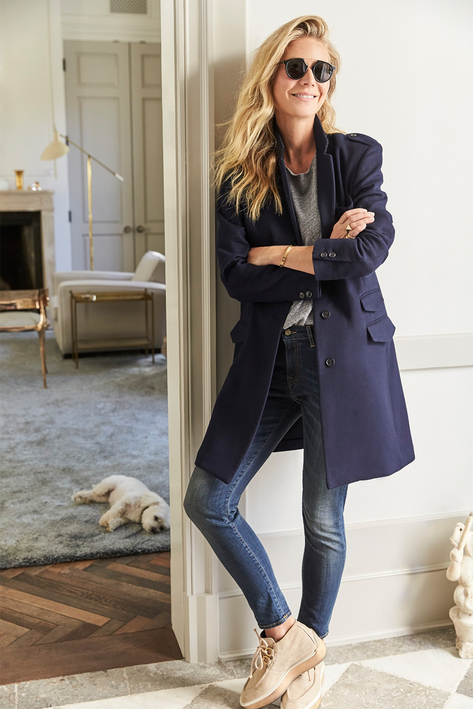 4a7653c473c …but you can still shop the rest of GP's look in the goop shop. Much like  the cashmere coat from the October edition of goop Label, the tee, jeans,  shoes, ...