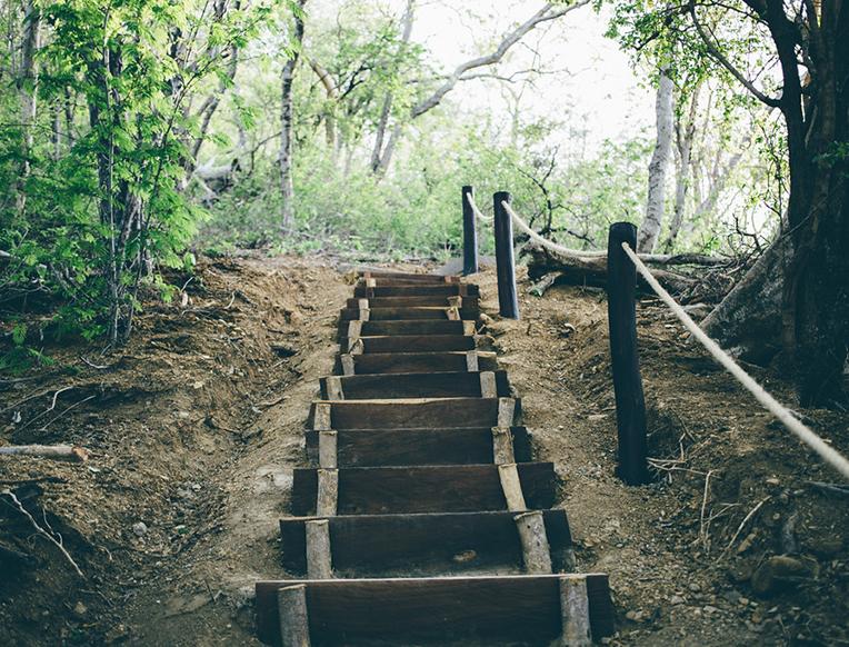 Hiking Guacalito de la Isla