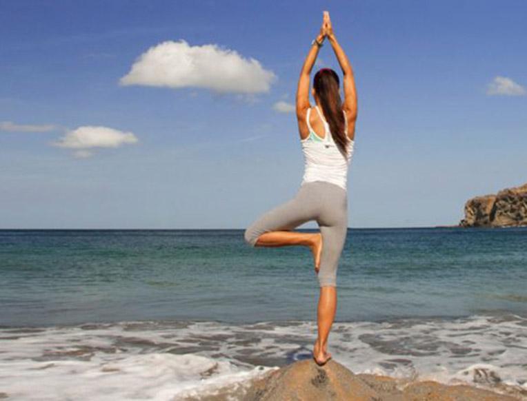 Yoga at Aqua