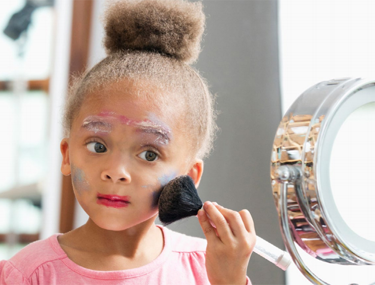 Scary Chemicals in Kids' Makeup
