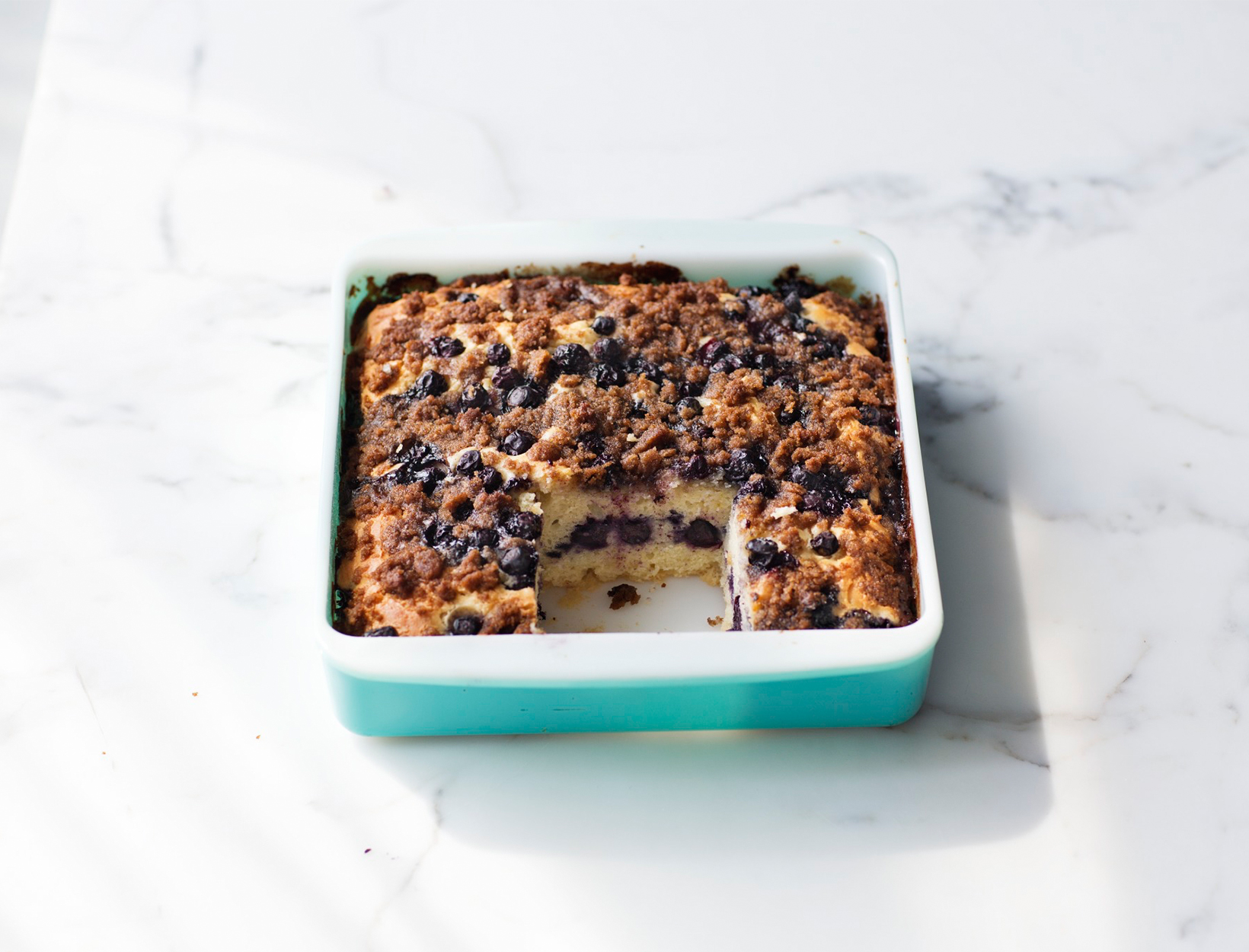 Sour Cream and Blueberry Coffee Cake | Goop