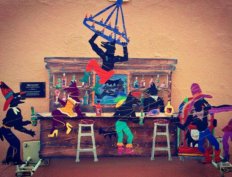 Coyote Cafe In Santa Fe New Mexico