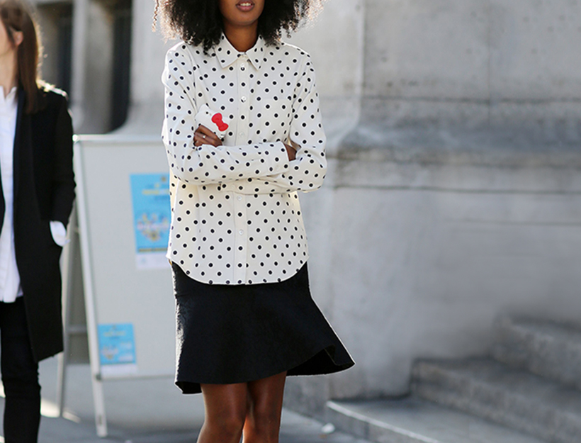 Mandatory Credit: Photo by Silvia Olsen/REX/Shutterstock (4131174aa) Julia Sarr Jamois Street Style, Spring Summer 2015, Paris Fashion Week, France - 27 Sep 2014