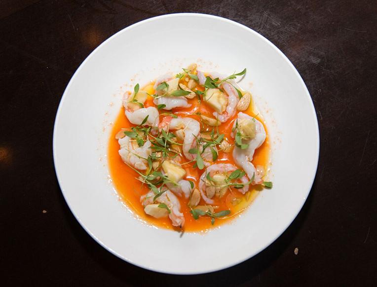 """Shrimp Ceviche in """"Agua Diablo"""""""