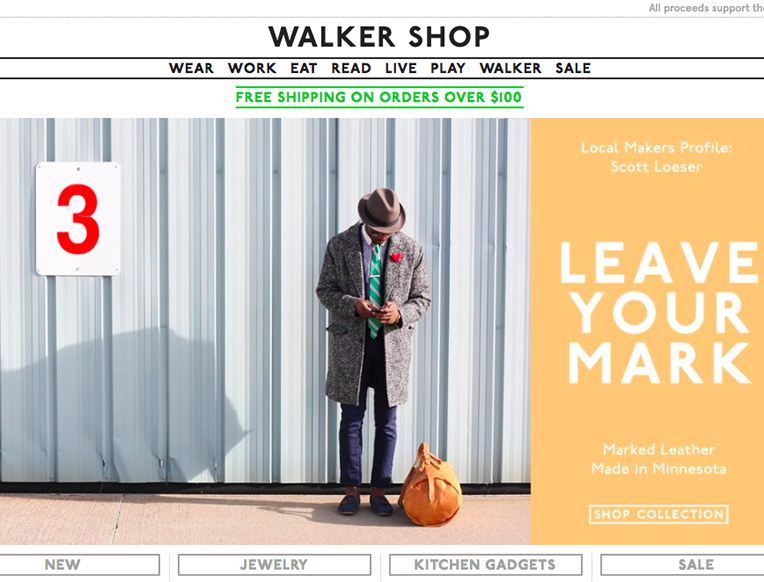 Walker Shop