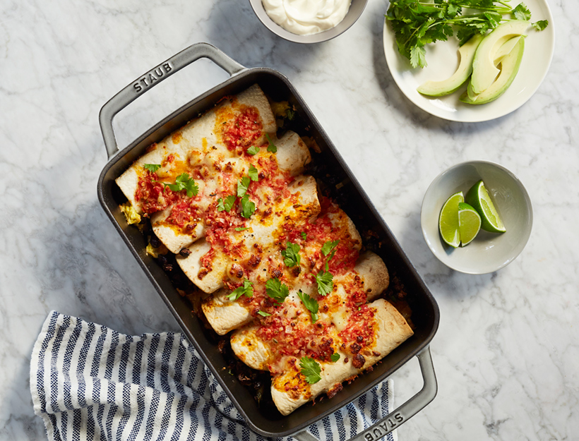 Breakfast Enchiladas