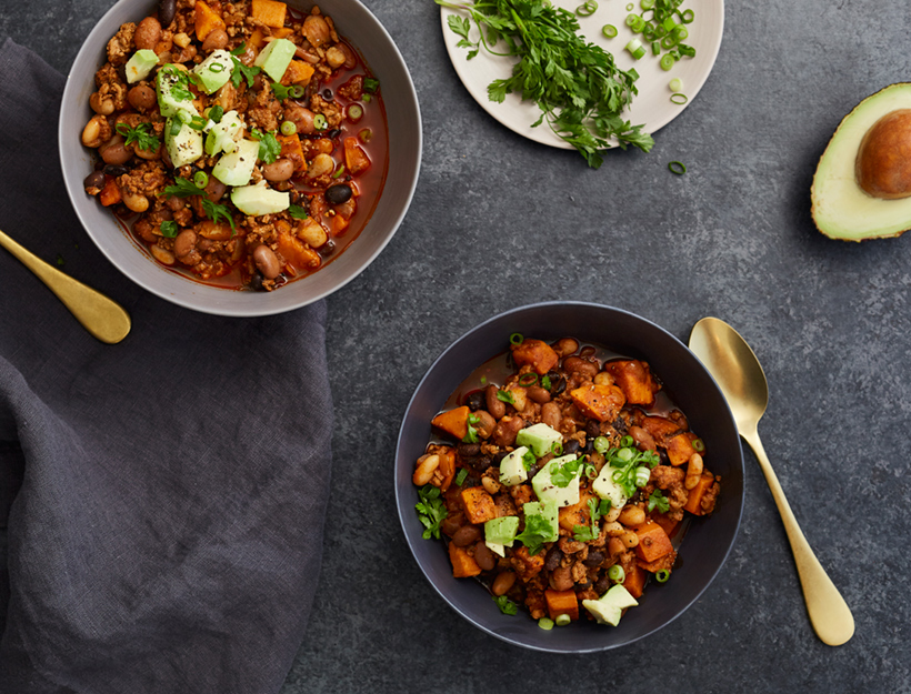 Turkey and Sweet Potato Chili