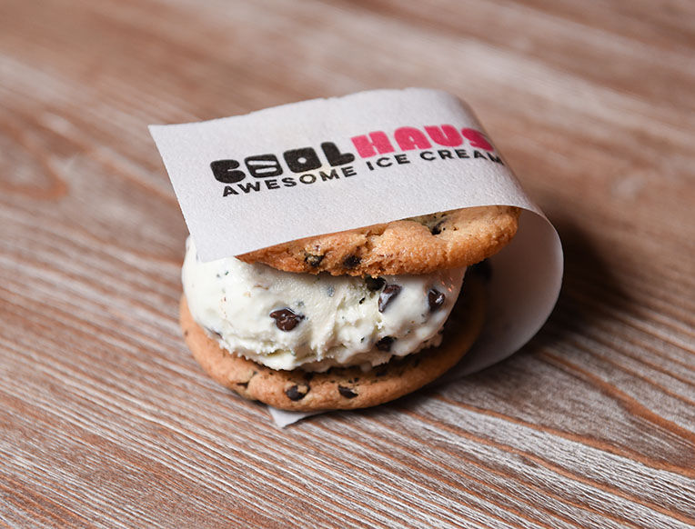 Coolhaus Dirty Mint Chip Ice Cream