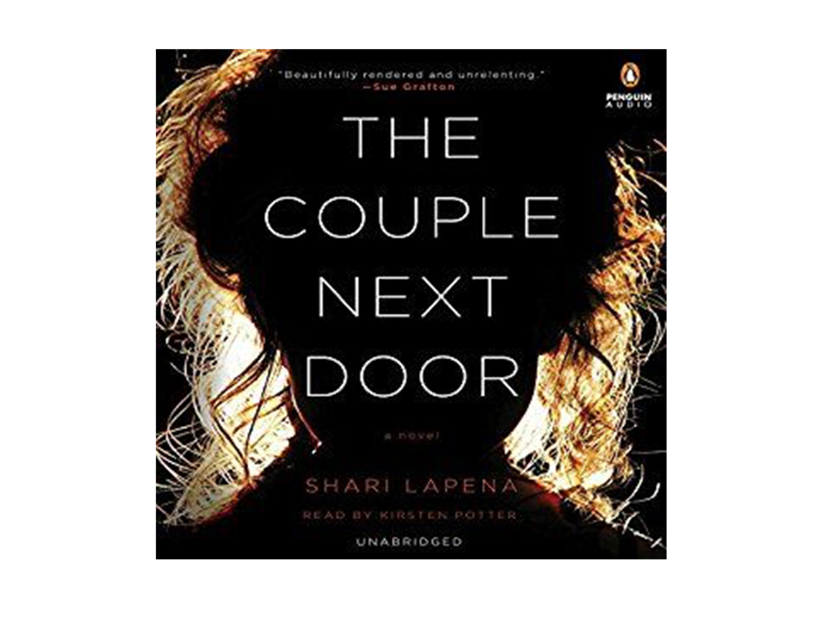 The Couple Next Door by Shari Lapena, read by Kirsten Potter