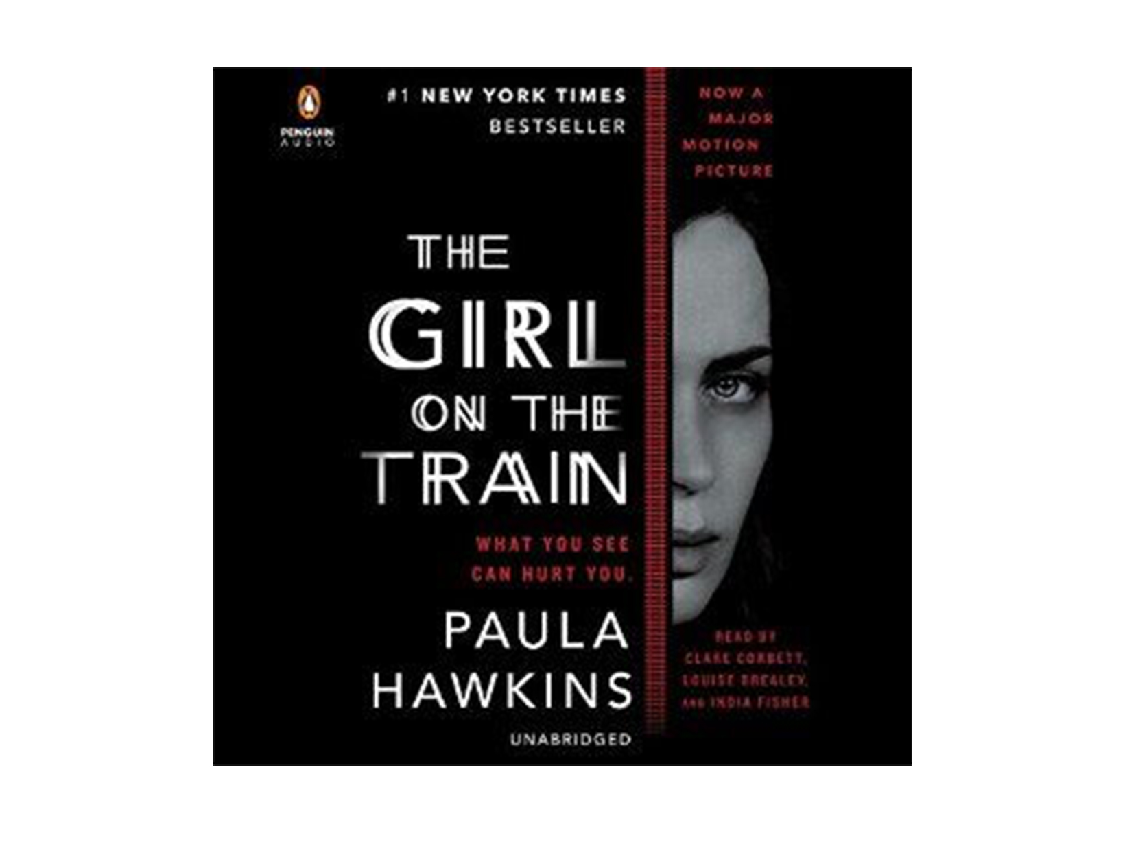 The Girl on the Train by Paula Hawkins, read by Clare Corbett, Louise Brealey, & India Fisher
