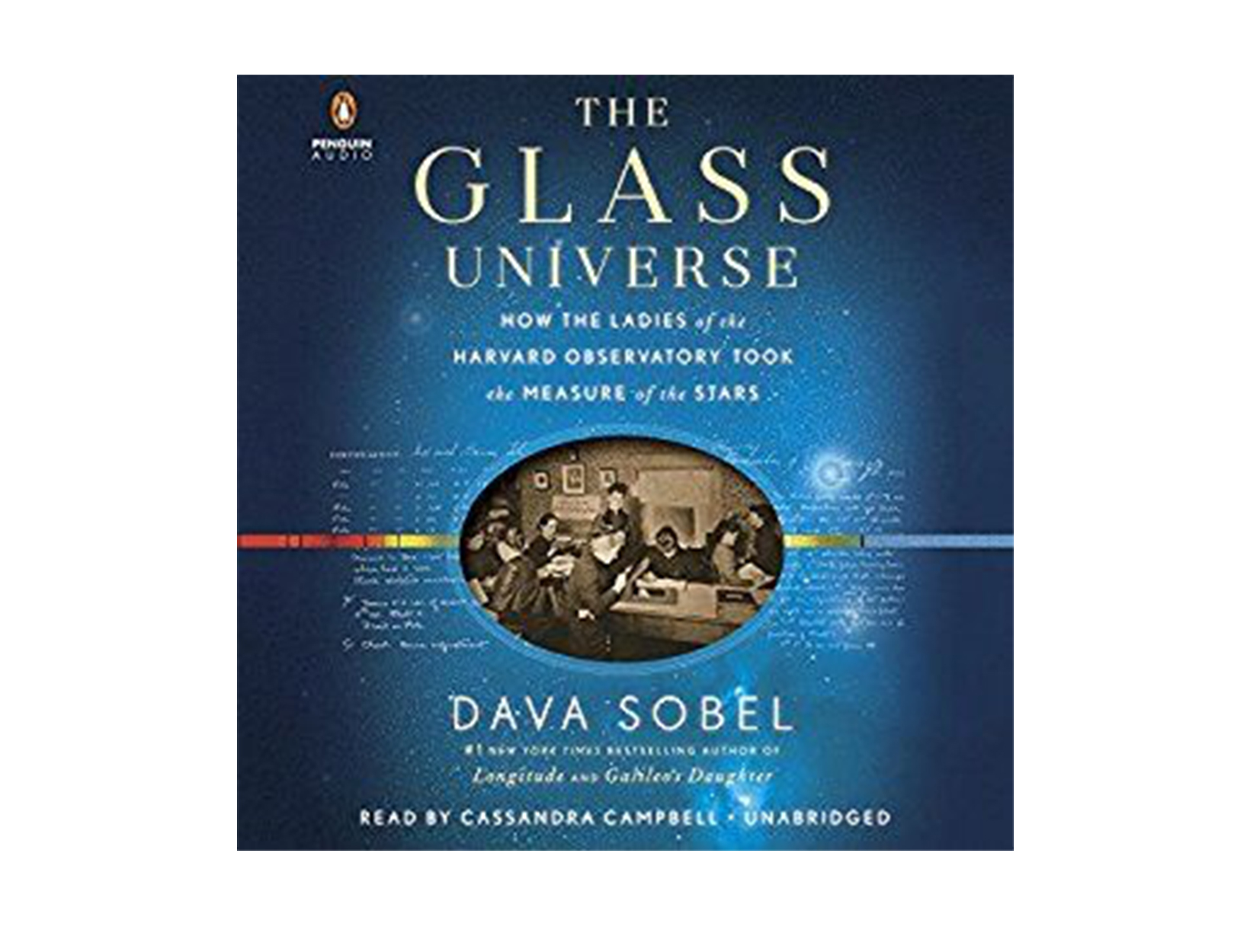The Glass Universe by Dava Sobel, read by Cassandra Campbell