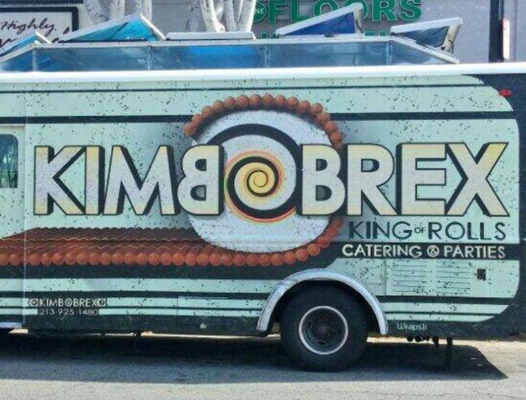 Kim-Bob Rex Sushi Burrito