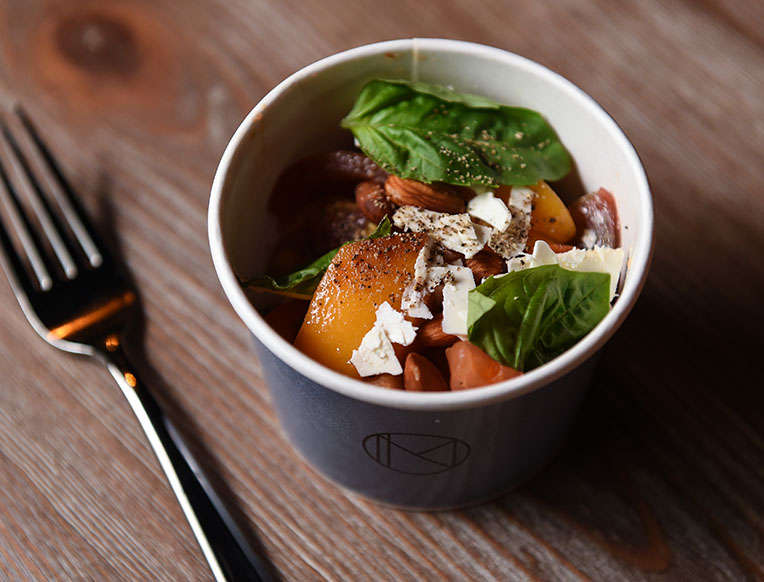 NoMad Tomato and Peach Salad
