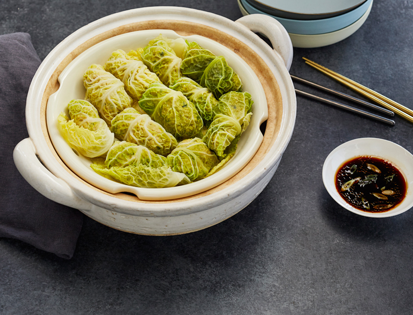 Chicken and Cabbage Dim Sum