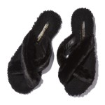 ST. MORITZ Shearling Sandals