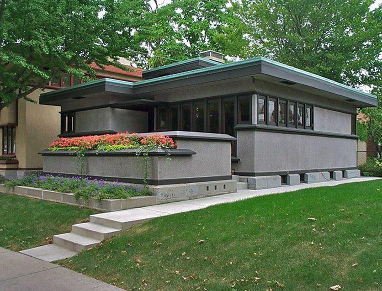 Frank Lloyd Wright's American System-Built Homes