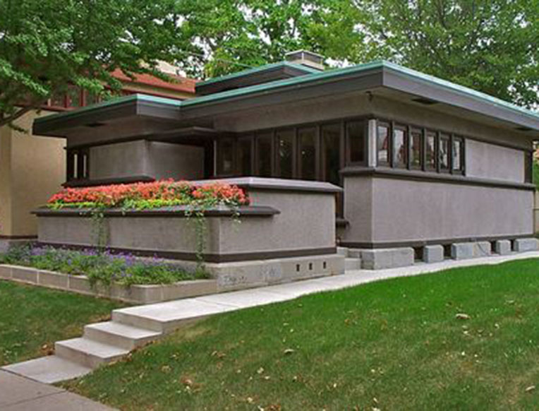 Frank Lloyd Wright's American System-Built Homes