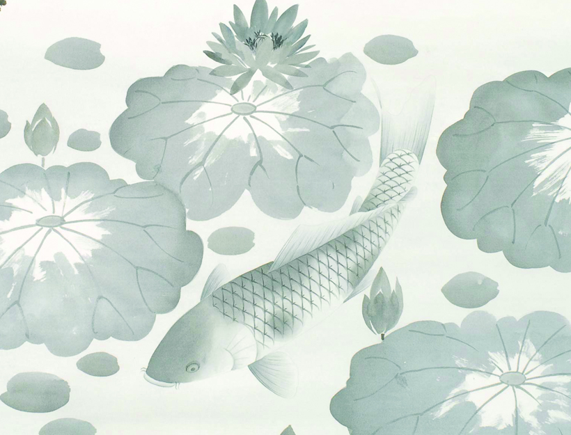 Lotus & Carp by Fromental