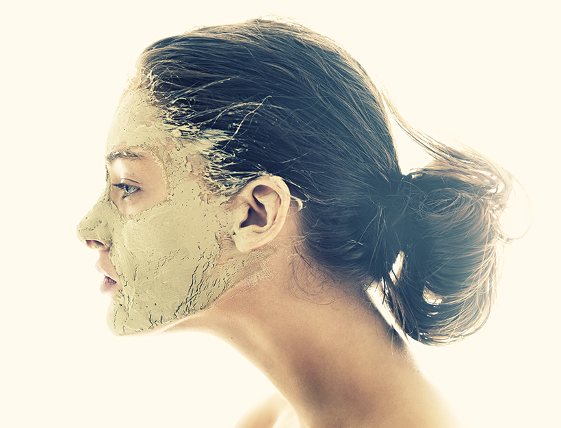 how to clean rubber face mask