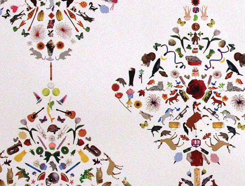 Sticker Wallpaper by Flat Vernacular