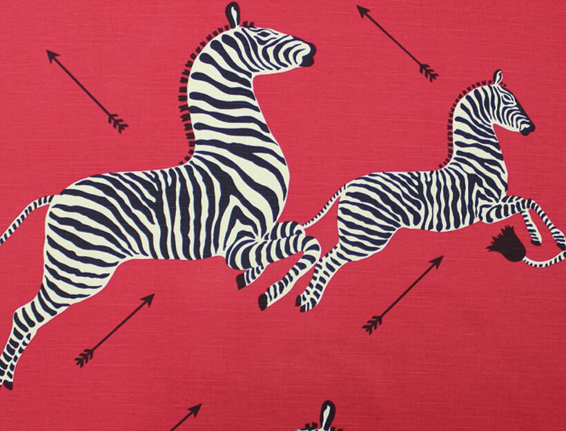 Zebras by Scalamandre